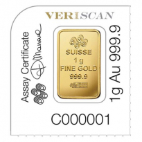 Zlatý slitek Pamp-Multigram 25 x 1g