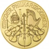Zlatá mince Wiener Philharmoniker 1/2 Oz