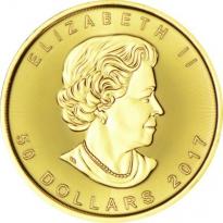 Zlatá mince Maple Leaf 1 Oz