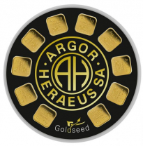 Zlatý slitek  Argor Heraeus Goldseed 10 x 1g