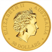 Zlatá mince Kangaroo 1/2 Oz - rok 2011, 2016